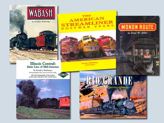 Railfan books from Heimburger House Publishing
