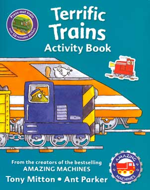 Terrific Trains Activity Book