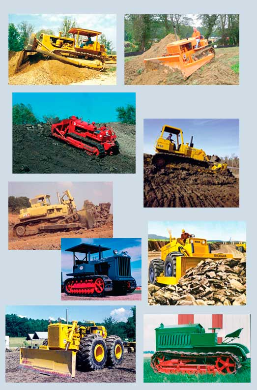 Various tractor photos