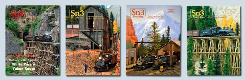 Group of Sn3 magazines