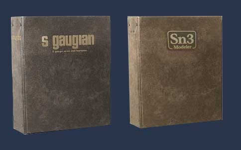 S Gaugian and Sn3 Modeler binders