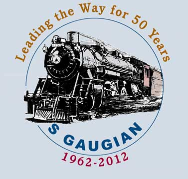 S Gaugian 50th Anniversary logo